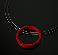 Circle Necklace by Melissa Stiles (Aluminum Necklace)