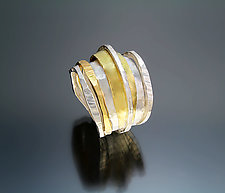 Dawn Ring by Sana  Doumet (Gold & Silver Ring)