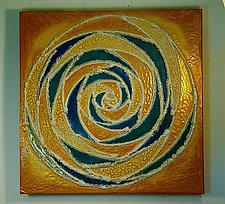 Mandala I by Gail McCarthy (Ceramic Wall Sculpture)