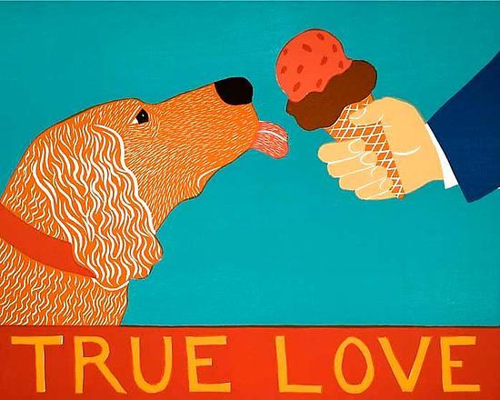 True Love By Stephen Huneck Giclee Print Artful Home