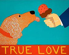 True Love by Stephen Huneck (Giclee Print)