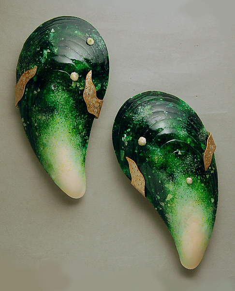 Grand Moules Pair in Green