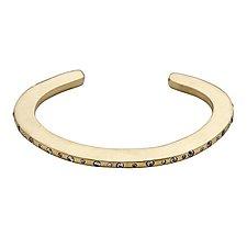 Halo Cuff by Julie Cohn (Bronze & Stone Bracelet)