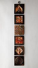 Quilt Strip II by Frances Solar (Metal Wall Sculpture)