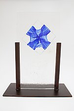 Blown Glass Oragami by Dierk Van Keppel (Art Glass Sculpture)