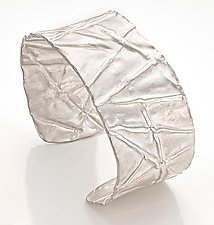 Genesis Cuff by Diana Widman (Silver Bracelet)