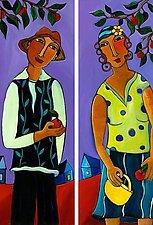 Adam & Eve by Katharina Magdalena Short (Giclee Print)