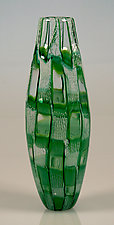 Murrini Window Vase by Robert Dane (Art Glass Vase)