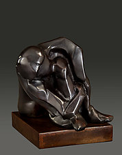 Introspection by Dina Angel-Wing (Bronze Sculpture)