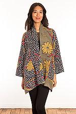 Kantha A-Line Jacket #8 by Mieko Mintz  (Size 0 (0-4), One of a Kind Jacket)