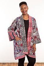 Kantha A-Line Jacket #9 by Mieko Mintz  (Size 2 (14-18), One of a Kind Jacket)