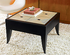 Maze Coffee Table by Kevin Irvin (Wood Coffee Table)