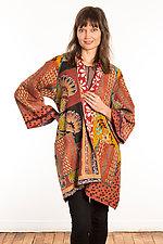 Kantha A-Line Jacket #12 by Mieko Mintz  (Size 1 (6-12), One of a Kind Jacket)