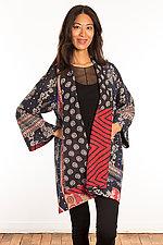 Kantha A-Line Jacket #18 by Mieko Mintz  (Size 1 (6-12), One of a Kind Jacket)