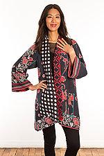 Kantha A-Line Jacket #22 by Mieko Mintz  (Size 1 (6-12), One of a Kind Jacket)