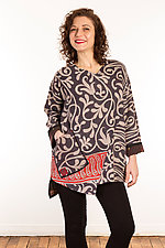 Kantha Bara Bara Top #1 by Mieko Mintz  (Size XS (0-4), One of a Kind Top)