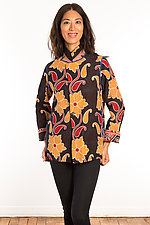 Kantha Simple Jacket #10 by Mieko Mintz  (Size M (10-12), One of a Kind Jacket)