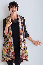 Kantha A-Line Vest #1 by Mieko Mintz  (Size 1 (8-12), One of a Kind Vest)