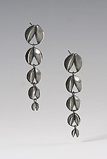 Arc 5 Elements Earrings by Analya Cespedes (Silver Earrings)