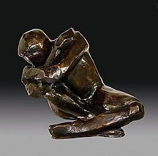 Dreamer No2 by Dina Angel-Wing (Bronze Sculpture)