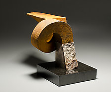 Monument Spiral II by Jan Hoy (Ceramic Sculpture)