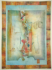 Shades of Italy VI by Peggy Brown (Fiber Wall Hanging)