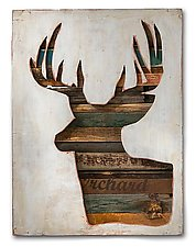 Virginia Den Collection by Dolan Geiman (Wood Wall Sculpture)