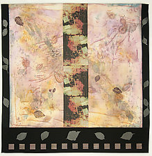 When Autumn by Peggy Brown (Fiber Wall Hanging)