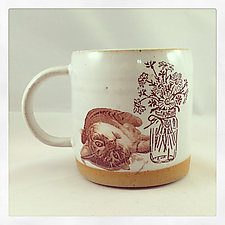 Just a Fabulous Cup by Chris Hudson and Shelly  Hail (Ceramic Mug)