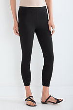 Jersey Cropped Leggings by Lisa Bayne (Knit Leggings)