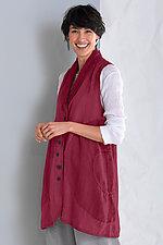 Eclipse Vest by Cynthia Ashby  (Linen Vest)
