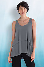 Sleeveless Cascade Tank by Sympli  (Knit Top)