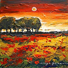 Before the Sunset by Maya Green (Acrylic Painting)