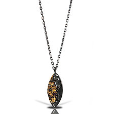 Marquise Astro Necklace by Lori Gottlieb (Gold & Silver Necklace)