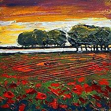 Sunset by Maya Green (Acrylic Painting)