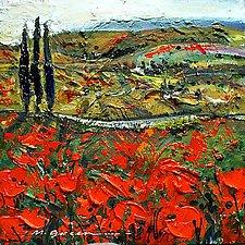 Flower Fields by Maya Green (Oil Painting)