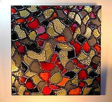 Mosaic III by Gail McCarthy (Ceramic Wall Sculpture)