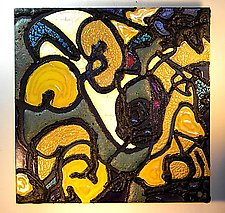 Abstract II by Gail McCarthy (Ceramic Wall Sculpture)
