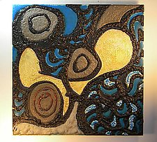 Abstract III by Gail McCarthy (Ceramic Wall Sculpture)