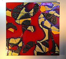 Abstract IV by Gail McCarthy (Ceramic Wall Sculpture)