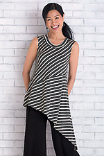Coastal Striped Tunic by Lisa Bayne  (Knit Tank)