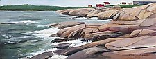 Acadia Calm by Claire Evans (Oil Painting)