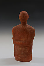 Arm Crossed by Beth Ozarow (Ceramic Sculpture)