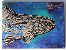Trout: Brown #2 by Michele Hardy (Acrylic Painting)