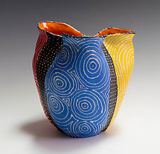 Primary Optix Bio Vessel by Vaughan Nelson (Ceramic Vessel)