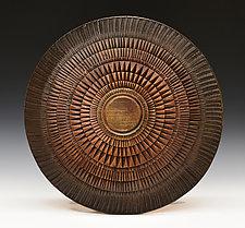 Burmese Shield by Ronald Artman (Ceramic Sculpture)