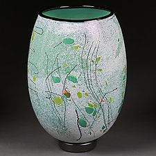 Spring Sonata by Eric Bladholm (Art Glass Vessel)