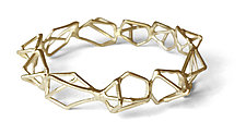 Repeating Geo Bracelet in Vermeil by Aimee Petkus (Gold & Silver Bracelet)