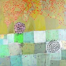 Icosahedron Act I by Barbara Gilhooly (Acrylic Painting)
