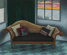 Studio Couch by Scott Kahn (Oil Painting)